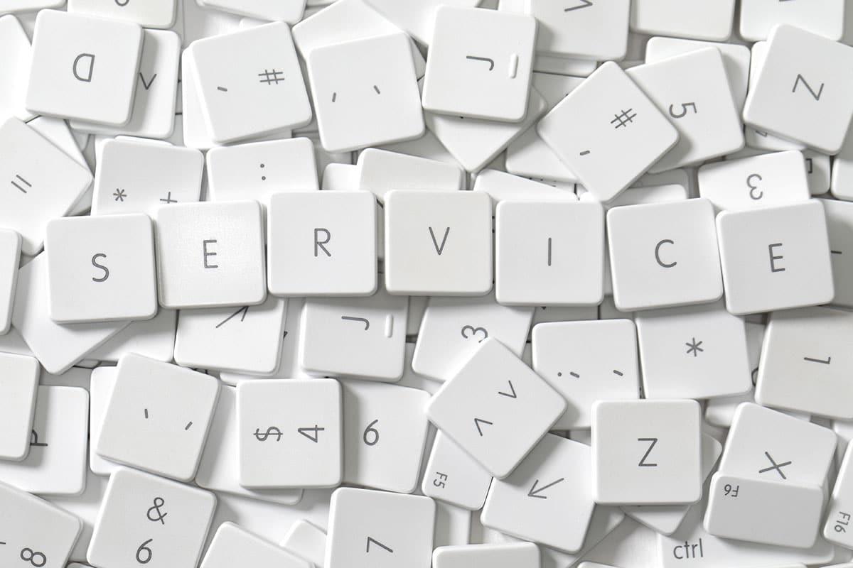 Service Dienstleistung